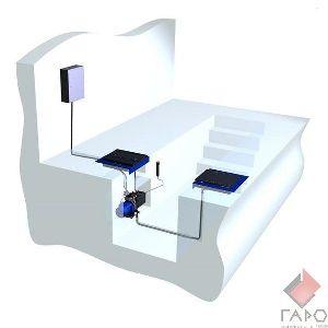 Люфт-детектор для грузовых автомобилей (канавный вариант) до 16 тонн ДГ-015