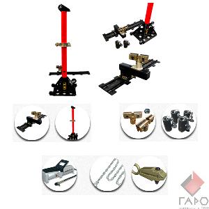 Рихтовочный напольный стапель NS-16MA (AUTOSTAPEL)